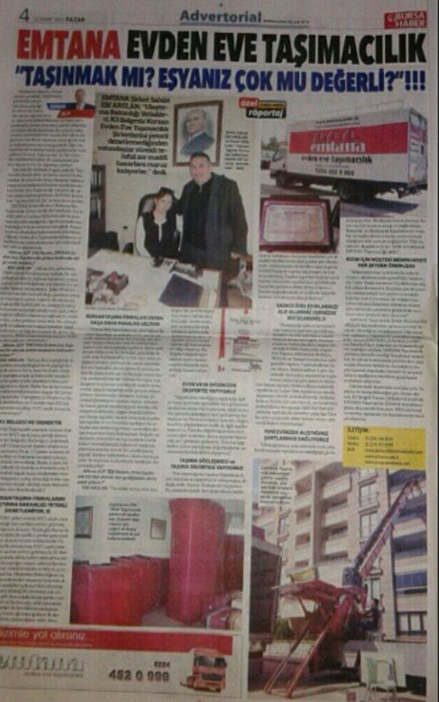 Gazete'de biz